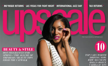 Porsha Williams Upscale Cover