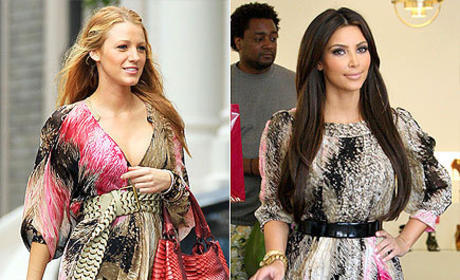 Who wore it better, Blake or Kim?