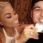 Blac Chyna and Rob Promote Teeth-Whitening Product