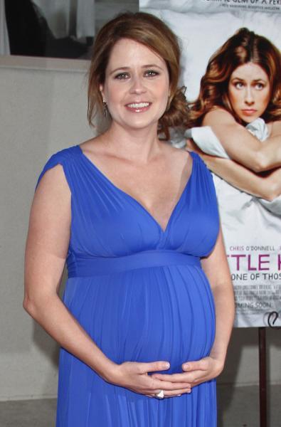 Pregnant Jenna Fischer
