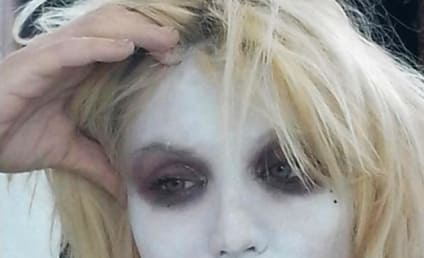 Courtney Love Posts Twitter Pic Following Sex With Mad Kabuki Warrior Face