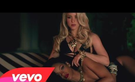 "Shakira & Rihanna ""Can't Remember to Forget You"" Video: The Sexiest Collaboration Ever?"