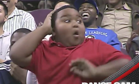 WATCH: Detroit Pistons Dance Cam Features Epic Battle Beween Fan, Usher
