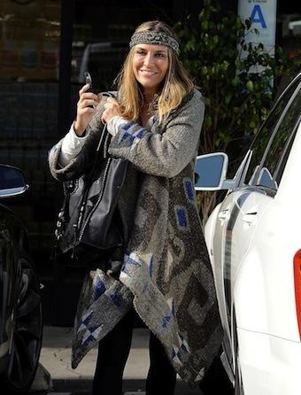 Brooke Mueller Exits Car