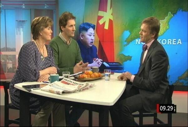 Kim Jong Un Photobomb