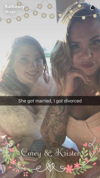 Kailyn Lowry Divorce Photo