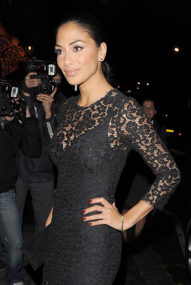 Nicole Scherzinger in Black
