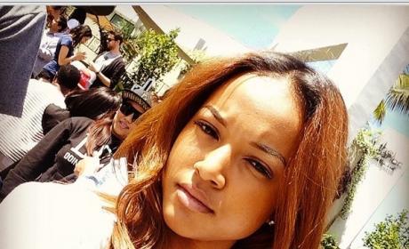 Karrueche Tran Selfie