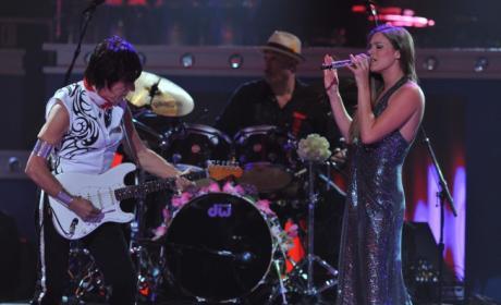 Jeff Beck and Joss Stone