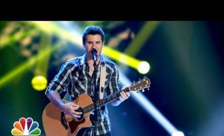 Brandon Chase - Wanted (The Voice Blind Audition)