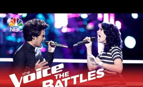 Ellie Lawrence vs. Tim Atlas (The Voice Battle Round)