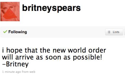 Britney Spears Worships Satan Via Twitter