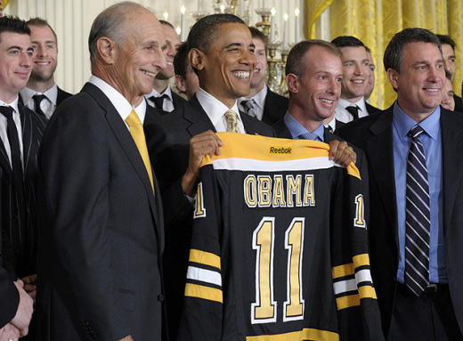 Bruins, Obama