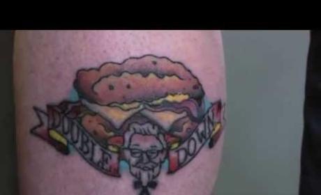 KFC Double Down Tattoo Ad