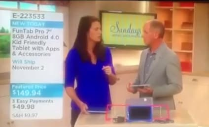 QVC's Cassie Lane Collapses on Live TV, Co-Host Doesn't Miss a Beat