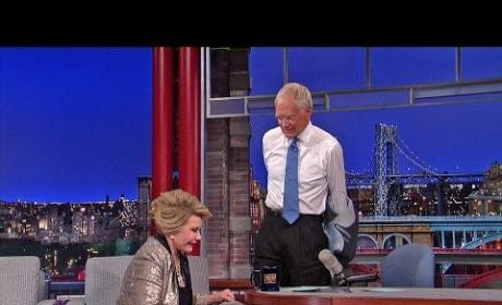 David Letterman to Joan Rivers: See Ya!