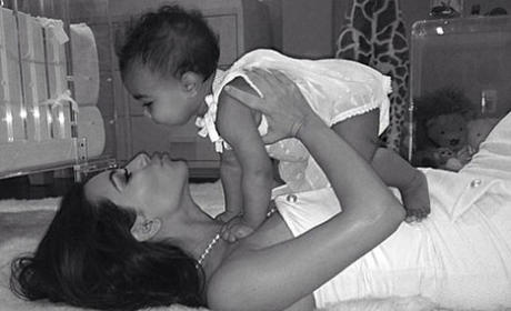 Kim Kardashian Sends Mothers Day Wishes, Gushes Over North