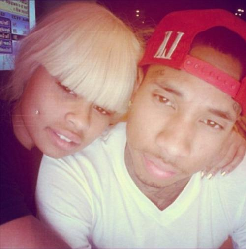 Tyga and Blac Chyna Pic