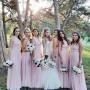 Nikki Ferrell & Her Bridesmaids