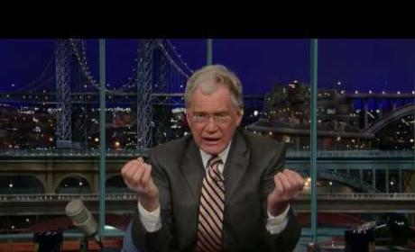 David Letterman on Jay Leno Bashing: It's Really Fun!