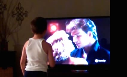 8-Year Old Reenacts Iconic Dirty Dancing Scene: A Must-Watch!