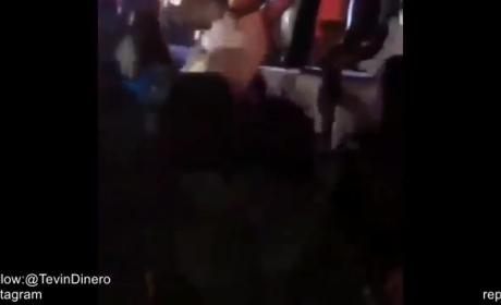 Chris Brown Falls Off Stage, Karma Gods Share Good Laugh