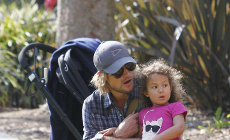 The Hollywood Gossip Hunk of the Week: Gabriel Aubry