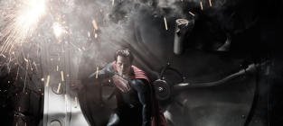 Man of Steel First Look: Henry Cavill as Superman