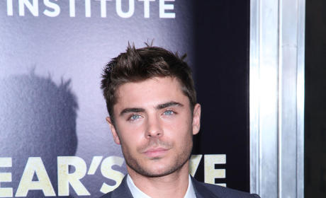 Zac Efron on the Red Carpet