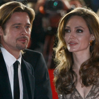 Brad Pitt and Angelina Jolie Image