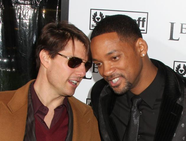 Will Smith and Tom Cruise