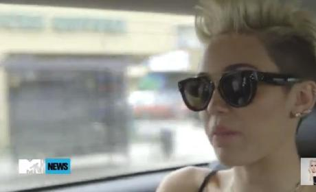 Miley Cyrus: I Work Hard!