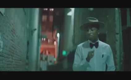"Pharrell's ""Happy"" Music Video With No Music Is, Well, Still Happy"