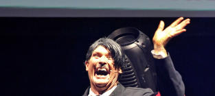 David Hasselhoff Performs as Hitler in London