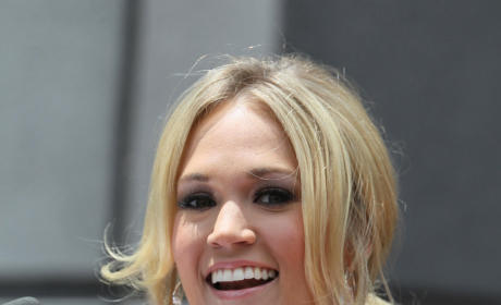 Rare Sighting: Carrie Underwood & Mike Fisher!