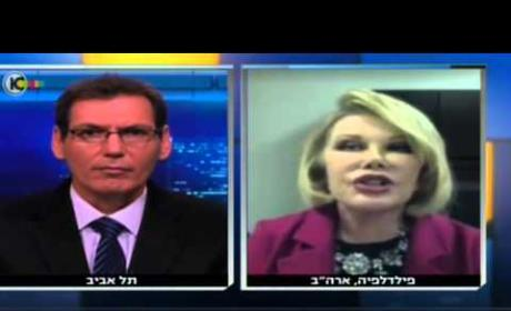 Joan Rivers Talks Israel-Hamas Conflict
