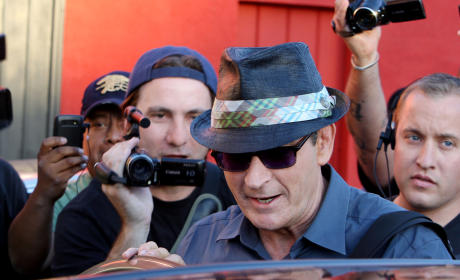 Is There Tape of Charlie Sheen's NYC Rampage?