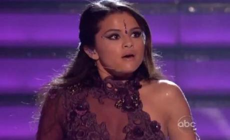 Selena Gomez Takes to Dancing with the Stars Stage, Rocks Bindi Once Again