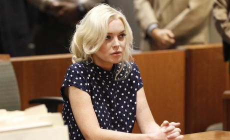 Lindsay Lohan on Jail Stint: So Scary!