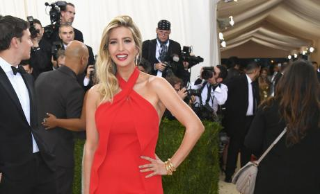 Ivanka Trump: 2016 Costume Institute Gala