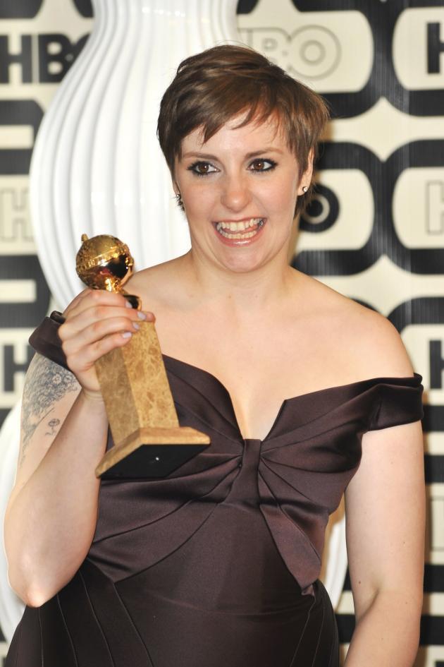 Lena Dunham Wins!