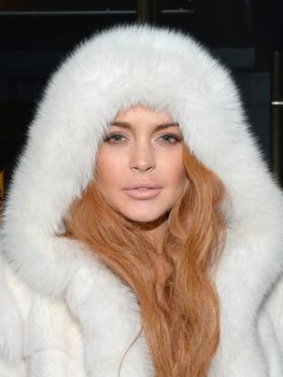 Lindsay Lohan Lips Pic