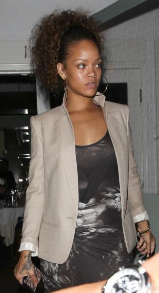 Rihanna Looking Normal