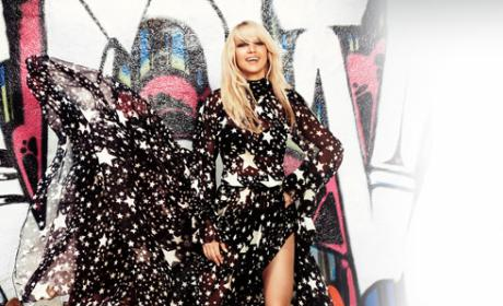 Britney Spears in Harper's Bazaar: Life is Good!