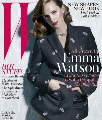 Emma Watson W Cover