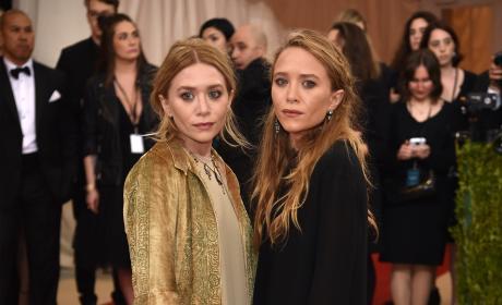 Mary-Kate and Ashley Olsen: 2016 Costume Institute Gala