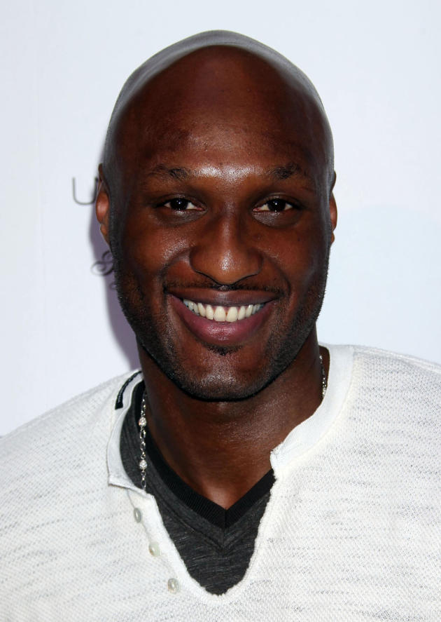 Lamar Odom Close Up