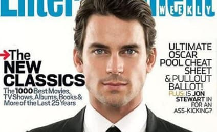 Matt Bomer as Christian Grey: First (Fake) Look!