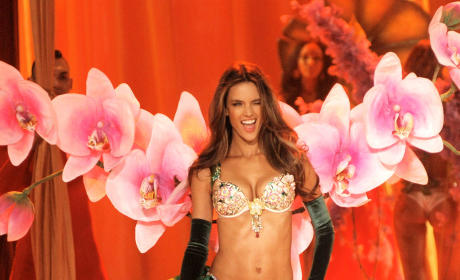 Alessandra Ambrosio in Victoria's Secret