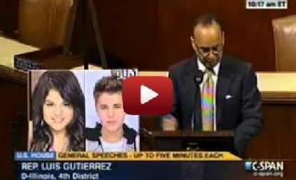 "Politician Plays ""Pick Out the Immigrant"" with Justin Bieber, Selena Gomez"